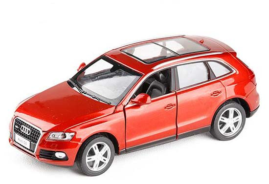 Black / Red / White 1:32 Scale Diecast Audi Q5 Toy