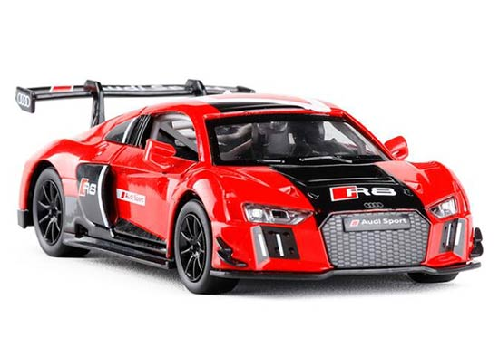 Red 1:30 Scale Kids Diecast Audi R8 LMS Sport Toy