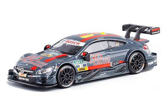 Gray Kids 1:43 Scale Diecast Mercedes-Benz C63 AMG DTM Toy