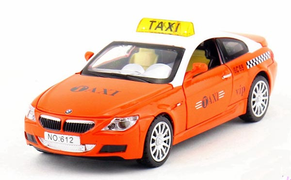 Yellow Green Red Orange Kids Diecast Bmw M6 Taxi Toy Th01b003 Ezmotortoys Com