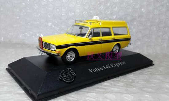 1:43 Scale Yellow Atlas Diecast Volvo 145 Express Model