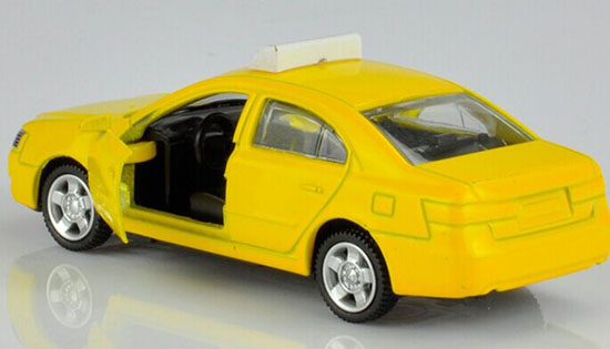 Kids 1:64 Scale Yellow / Blue Diecast Taxi Toy [TH01B025 ... - photo#23